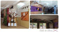 Decoración Halloween Aula de Elena
