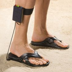Metal Detecting Sandals....hahahha!!