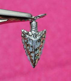 Brand New, Sterling Silver Rembrandt Arrowhead, Charm / Pendant #Rembrandt #CharmPendant