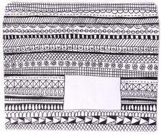 doodled snailmail envelop - from snailmail magazine