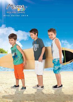 Minore Kids - Coleção Alto Verão 2014 Moda#criança#roupa www.minorekids.com.br www.facebook.com/Minorekids
