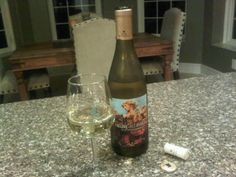 """A bottle of Calling All Angels Chardonnay wine by the band """"Train"""" , they created Save Me, San Francisco Wine Co. Stuffed Zuchinni Boats, Train Music, Uk Rail, Chardonnay Wine, Wine Collection, Happy Foods, In Vino Veritas, Pop Bands"""