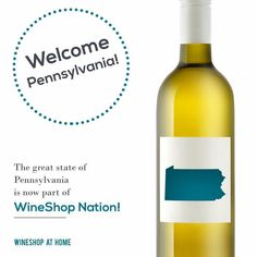 Woot! Woot!  Raise your glass Pennsylvania!!  So excited to announce that we are now open for business in PA! Know a wine lover in PA? Someone looking to make a few$? Send them my way and I'll be sure to thank you for the referral.  www.shazwinecellar.com  #WineShopatHome #WineShopNation