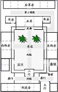 Lobby Floor Plan also Si He Yuan additionally Employee Housing Floor Plans as well Lobby Floor Plan further Key West Home Floor Plans Html. on quadrangle house floor plans