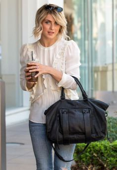 TRENDS: DANCING WITH THE STARS JUDGE JULIANNE HOUGH AND HER SHE + LO HANDBAG