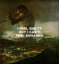 "mountainqoats: ""The Colossus (1808-12), Francisco Goya / Prowl Great Cain, The Mountain Goats """