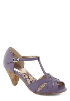 Found My Way Heel in Lavender, #ModCloth