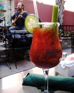 Anyone Can Enjoy This Non-Alcoholic Bloody Mary: Virgin Mary at Pat O'Briens in San Antonio