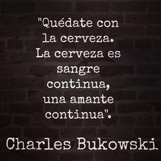 #bukowski #charles #beer #cerveza #bar @condeduquegente #artesanas #beber #literatura #poesia #libros #biblioteca #drink #bier #franken #bayern #madrid #malasaña by barleinermadrid