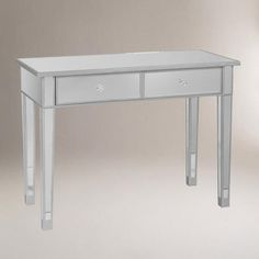 """Mirrored Console Table - 39.5""""W x 17.75""""D x 28.5""""H - $219.99"""