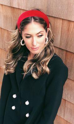 headband hairstyles Red Velvet Padded Headband Crown, Red Padded Races Headpiece, Red Matador Headband, Blair Waldorf He Black Headband, Crown Headband, Headband Hairstyles, Easy Hairstyles, Men's Hairstyle, Permed Hairstyles, Wedding Hairstyles, Blair Waldorf Headband, Thick Headbands
