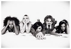 Ginger Spice Girl, Sugar And Spice, Melanie C, Emma Bunton, Baby Spice, Geri Halliwell, Girls Rules, Elle Magazine, White Aesthetic