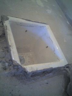 Rod Banuelos -Pocelain floor sink repair