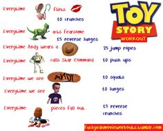 Workout to toy story