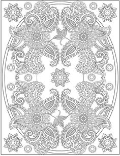 Henna coloring page from Dover Publications  http://www.doverpublications.com/zb/samples/797910/sample6c.html