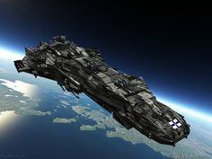 Sci-Fi Warships | Swashbuckling Sci-Fi Open