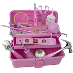 tools- and they might as well be pretty so no silly boy takes them from you!