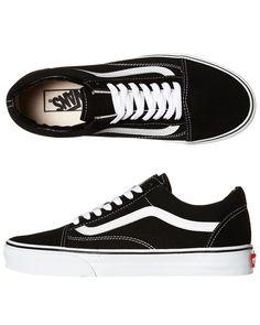 New Vans Men's Mens Old Skool Shoe Suede Shoes Black in Clothing, Shoes,  Accessories, Men's Shoes, Athletic