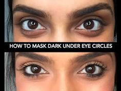 How to Mask Dark Under Eye Circles: This makeup hack is FREAKING AMAZING and actually WORKS!!!