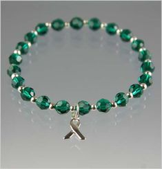 Depression Awareness Bracelet - Swarovski Crystal