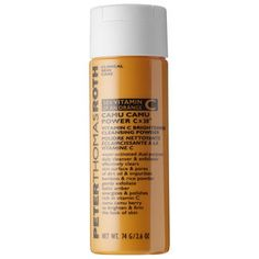 Now available at Ambiance! Peter Thomas Roth Camu Camu 30 X Vitamin C water-activated daily cleansing powder. Perfect for anyone seeking fresher, softer, more radiant, and healthier-looking skin. This highly concentrated vitamin C helps brighten, smooth, firm, and improve the appearance of uneven skin tone, fine lines, and wrinkles.