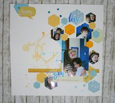 Layout by Veronica Scrap Blu