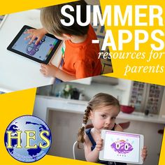 Summer Apps to Keep Children learning