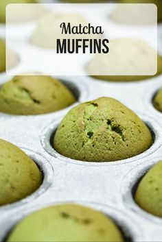 Need a quick snack? Make these green tea muffins and enjoy an antioxidant-rich snack all week. Click to steal our recipe! http://epicmatcha.com/green-tea-muffins/?utm_source=pinterest&utm_medium=pin&utm_campaign=social-organic&utm_term=pinterest-followers&utm_content=blog-matcha-green-tea-muffins-round-2
