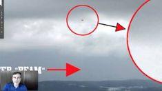 UFO Caught Sucking Water Out Of California Lake, May 2015, UFO Sighting News