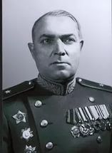 Major-General Kulishev Fedor Danilovich (22 Sep 1898 -17 March 1981) Soviet military commander, Lieutenant General (1954). The Deputy Chief of the 63rd Army`s Staff (Stalingrad, 1942), Deputy Chief of the 5th Tank Army`s Staff (1942-1943), the Chief of the Staff 6th Army (1943-1945), in 1943 temporarily commanded the 6th Army.