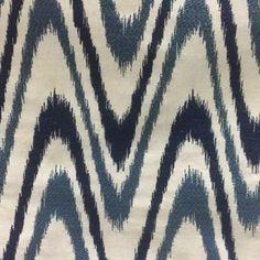 ULTRAWAVE SAPPHIRE #blue-turquoise #chevrons #geometrics #woven-fabrics