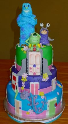 Monsters Inc cake By ThatysCakes on CakeCentral.com
