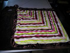 Double Side Minky Throw by NikkisAttic on Etsy, $79.00