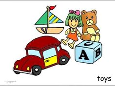 English Bedroom Vocabulary Flashcards For Children To Learn And Study English Language - YouTube
