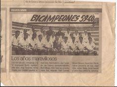 Universitario de Deportes Bicampeón 59-60... Con mi abuelito Jacinto Villalba.