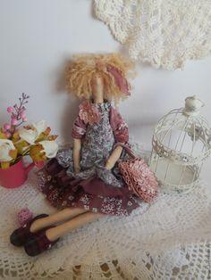 Купить Бохо Мармелад - комбинированный, тильда, тильда кукла, тильда бохо…