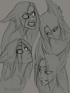 Sona doodles by SHADE-ShyPervert.deviantart.com on @DeviantArt