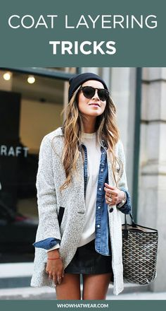 9 perfectly executed looks that make the most of fall layers + the best shopping picks to get the look.