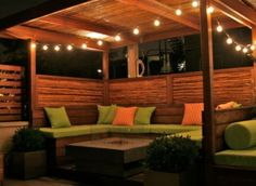 74 Beautiful Outdoor Patio and Living Space Decoration