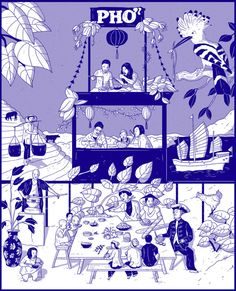 """Laura Breiling: """"History of Pho"""" for Lucky Peach"""