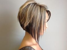 Current short bob haircut images