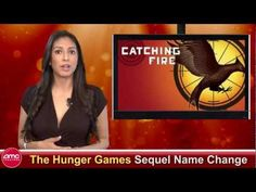 """HUNGER GAMES sequel gets a minor name change. No biggie. All they did was turn """"Catching Fire"""" to """"The Hunger Games Saga: Catching Fire"""". What's the big deal? They did the same with Twilight. Hunger Games Saga, Name Change, Catching Fire, Twilight, Interview, Tv, Videos, Music, Movies"""