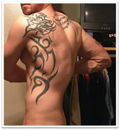 Back tattoos For Men Tribal 20 Tattoo Ideas For Men For Beautiful Look Tribal Back Tattoos, Tribal Shoulder Tattoos, Back Tattoos For Guys, Tribal Tattoo Designs, Tattoos For Women, Tribal Sleeve, Mens Sleeve, Trendy Tattoos, Sexy Tattoos