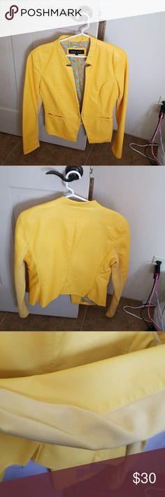 Pleather jacket Pleather short jacket soze large but runs small. New never worn Wilsons Leather Jackets & Coats Blazers