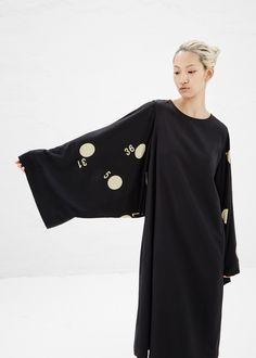 Totokaelo - Yohji Yamamoto Black Dolman Sleeve Dress