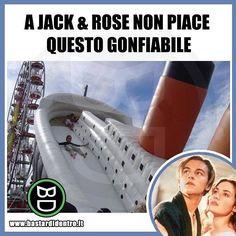 #bastardidentro #perfettamentebastardidentro #titanic #gonfiabili www.bastardidentro.it