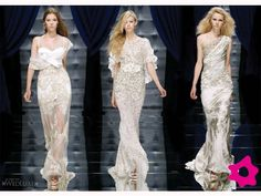 Vestidos de noiva retos