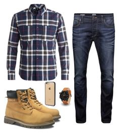 """""""Untitled #6"""" by betti92824 ❤ liked on Polyvore featuring Jack & Jones, DC Shoes, Caterpillar, Incase, men's fashion and menswear"""