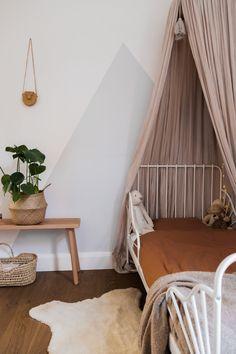 Big Girl Rooms, Baby Boy Rooms, Baby Bedroom, Girls Bedroom, Ikea Minnen Bed, Todler Room, Modern Kids Bedroom, Baby Room Neutral, House Beds