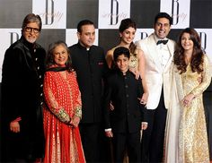 The entire film industry joined the Bachchan clan as Bollywood's first family celebrated the 70th birthday of patriarch Amitabh Bachchan on October 10 at Filmcity in Goregaon, a western Mumbai suburb.